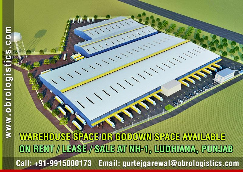 godown space for mncs on rent lease in ludhiana punjab Mobile 9915000173 http://www.obrologistics.com