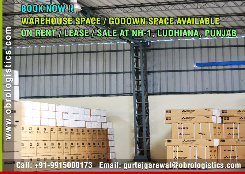 hire warehouse space on rent lease in ludhiana punjab Mobile 9915000173 http://www.obrologistics.com