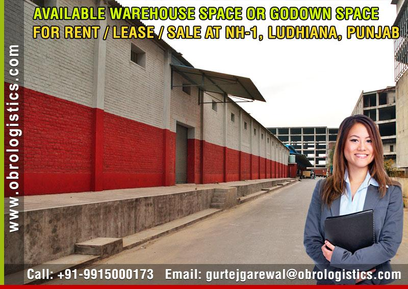 goods storage warehouse on rent lease in ludhiana punjab Mobile 9915000173 http://www.obrologistics.com